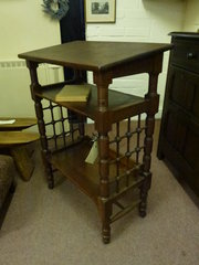 Antique Oak Lectern c1890