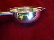 Antique Silver Tea Strainer