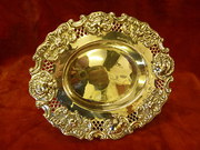 Birmingham silver pierced dish