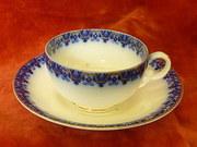 Copeland flow blue cup & saucer