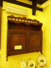 Edwardian Country cottage wall cupboard