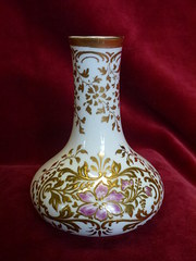 Crown Derby Spill Vase