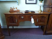 Edwardian Inlaid Desk / Dressing Table