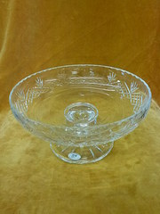 Welsh Royal Crystal Bowl