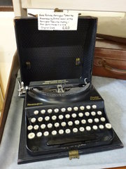 Home Portable Remington Typewriter