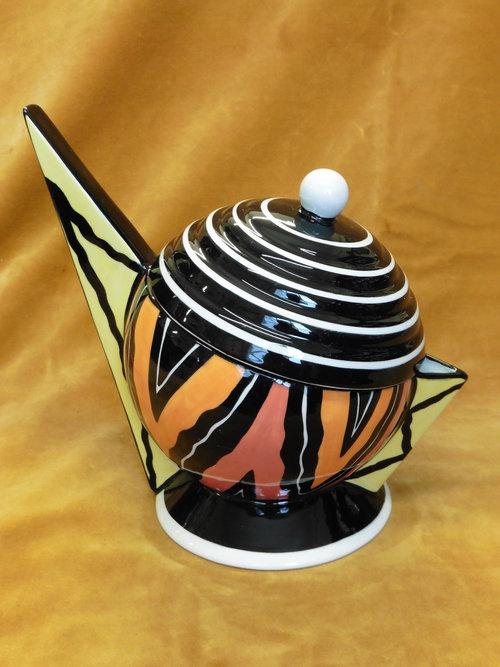 Lorna Bailey Planet Teapot