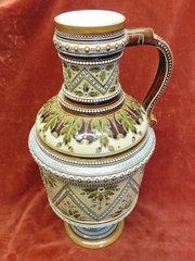 Mettlach Stoneware Ewer jug