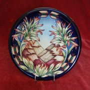 Moorcroft Indian Wall Plaque by Philip Gibson