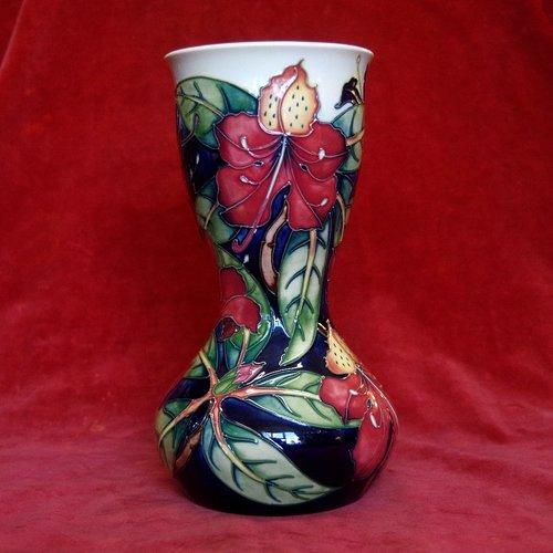 Moorcroft Simeon Vase by Philip Gibson