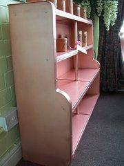 Pink Diamond impressed aluminium shelves