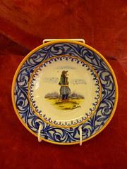Quimper ware bowl