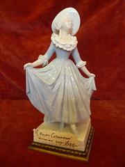 Royal Copenhagen Victorian Lady
