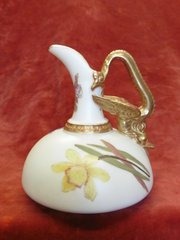 Royal Worcester Miniature Ewer