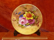 Royal Worcester signed pin tray