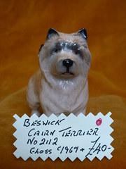 Beswick Cairn Terrier no 2112