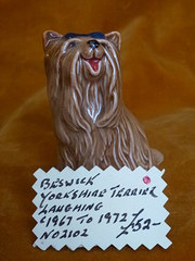 Beswick Yorkshire Terrier laughing