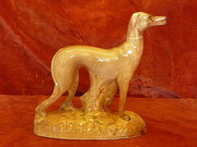 Antique Staffordshire Greyhound