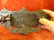 Victorian/Edwrdian Letterbox/ knocker