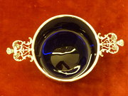 Victorian  silver sugar basin