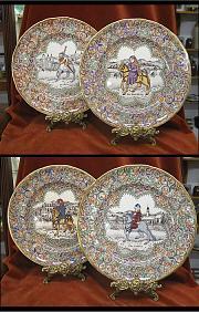 Masons set of 4 Chaucers