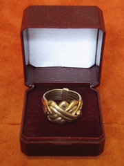 9ct Gold Puzzle Ring