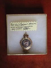 9ct Gold Masonic Pendant