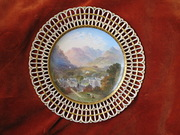 Minton Hand Painted Cabinet Plate