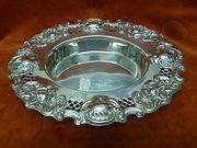 c1924 Silver Dish