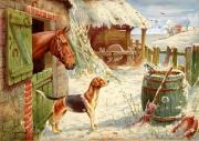 Christmas Day in the Farmyard