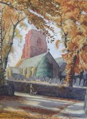 Norman Thelwell Watercolour