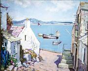 Cornish Harbour Scene