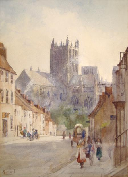 Wells Cathedral c1900
