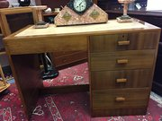 Art Deco Australian Walnut Desk