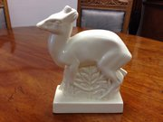 Art Deco Wedgwood Model of a deer marked Skeaping