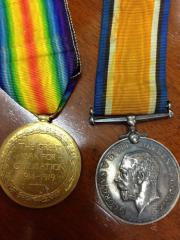 Battle of Somme Medals