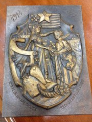 Belgian WW1 Plaque