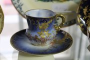 Exquisitely Finished Limoges Cabinet Cup & Saucer