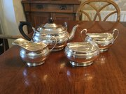 Goldmiths & Co Ltd Silver Tea Set Sheffield 1925