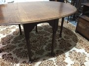 Large Georgian Drop Leaf Table