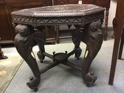 Large Indian Elephant Head  Table