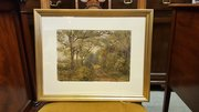 Ledsham Woods, Wirral Watercolour by J Towers
