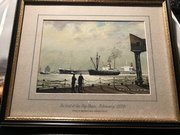 Liverpool painting 'Shell's 210,000 tons 'Melo'