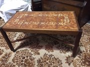 Nice mid-century tiled coffee table