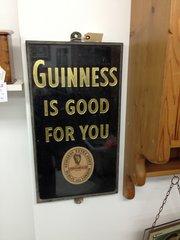 Original Guinness Advertising Sign
