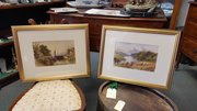 Pair of Mid-19th C Country Scenes by Thomas Soper