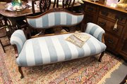Regency Style Sofa in Blue