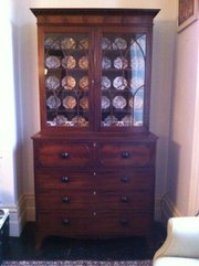 Superb Secretaire Bookcase