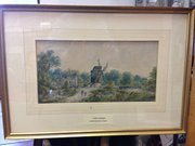 Signed Watercolour by Stanley Herdman,