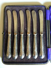 Silver Handled Tea Knives
