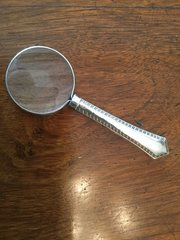 Silver Magnifying Glass James Deakin c1912